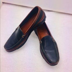 New Allen Edmonds Boulder Handsewn Venetian Loafer